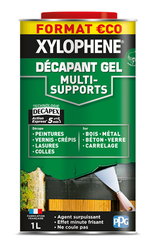 Xylophène décapant gel multi-supports